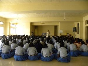 Girls Hygiene at KR Puram