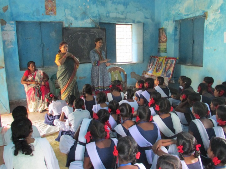 A session in process at Toto School in Gumla district