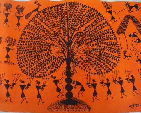 Healing Tree Image Orange